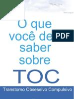 O que você deve saber sobre TOC