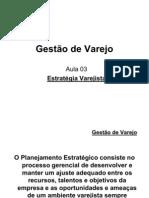 Gestão de Varejo - Aula 03