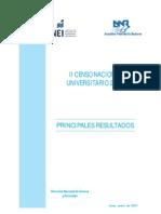 Censo Universitario PERU 2010