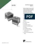 Antunes Controls Gas Pressure Switch 8101111202