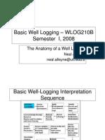 Basic Well Logging