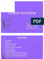 Creative Accounting Updated
