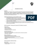 Estructura Del Curso TIC