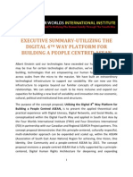 Executive Summary-Utilizing the Digital 4th Way Platform for Building a People Centred ASEAN