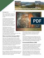 pebble acid mine drainage
