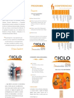 Ciclo de Conferencias Interuniversidades, Matemática 2011