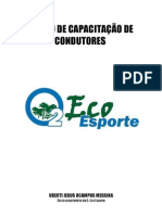 CURSO DE CAPACITAÇÃO DE CONDUTORES O2 ECO ESPORTE