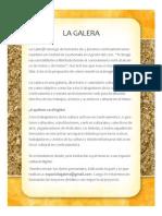 Boletin 1 La Galera