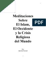 Los Encuentros Entre el Occidente y el Islam