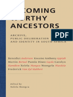 Becoming Worthy Ancestors