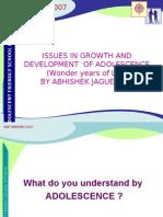 Growth and Dev Elopement by Abhishek Jaguessar