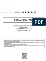 Manual service ( reparatii ) dacia papuc benzina C3L