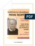 Mihai Neamtu - Ceaiuri, Invataturi (A4)