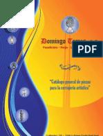 Catálogo de Puertas y Cuarterones chapa de Domingo Torres, S.L.