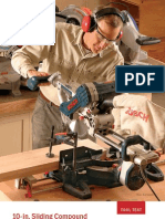 10-In. Sliding Compound Miter Saws (Tool Test)