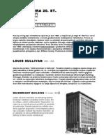 1. Arhitektura 20. st