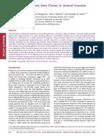 Multiple Evolutionary Classes in Genome Evolution