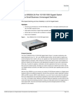 Cisco Sr2024t Datasheet