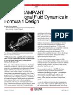 CFD in Formula 1 Design