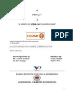 Osram Project Motivation