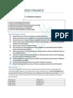 Sec e Business Finance_dec 2011