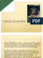 Istorie - Mircea Cel Batran