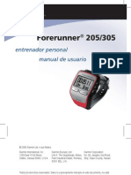 Forerunner 205-305 - Manual de Usuario