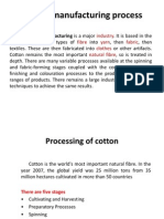 Textile Manufacturing Process PPT