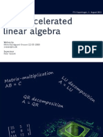 GPU Accelerated Linear Algebra