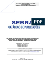 Sebraern Cdi Catalogo Publicacoes