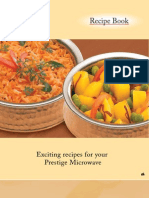 Microwave Recipe - Prestige