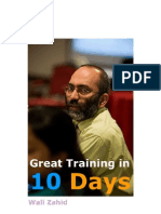 Great Training in 10 Days