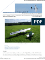 Unmanned Aircraft Systems_ Part I