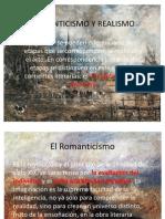 ROMANTICISMO Y REALISMO 10º