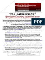 Who Is Alan Krueger?