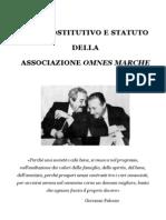 Statuto Definitivo Associazione Omnes Marche