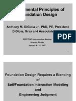Fundamental Principals Foundation Design
