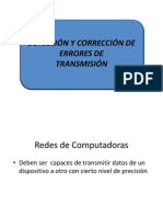 DETECCIÓN Y CORRECCIÓN DE ERRORES DE