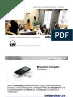 Gute Auftragslage - unbestimmte Aussichten - die Werbebranche - Branche Kompakt