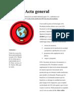 Acta General Edgar