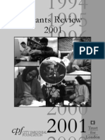 Grants Review 2001