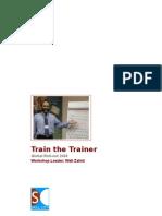 Train the Trainer with Wali Zahid Workbook