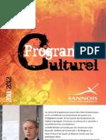 Guide Culturel 2011-12 Centre Cyrano