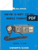 Midland 13 509 Owners Manual