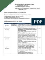 Cronograma Curso de Clculo Diferencial CDX24 02-2011 Ver.1 (1)