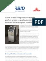 Cable Print - for ORBID [NL]