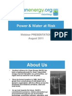 Power and Water at Risk