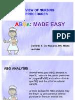 ABGs Interpretation