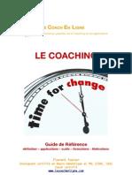 LE COACHING - guide de référence