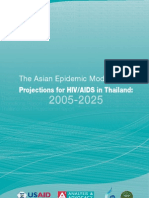 The Asian Epidemic Model (AEM) Projections for HIV/AIDS in Thailand